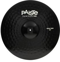 "Paiste 900 Series Colorsound Mega Ride - 24""- Black"