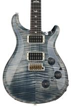 PRS Custom 24 Piezo Figured Top - Faded Whale Blue with Pattern Thin Neck