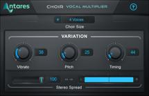 Antares CHOIR Evo Vocal Multiplier Plug-in