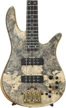 Fodera Monarch Deluxe Custom Bass - Buckeye Burl
