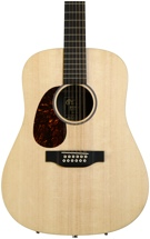 Martin D12X1AE 12-String Left-Handed - Natural