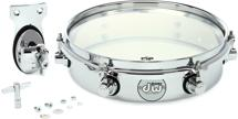 DW Design Series Chrome Piccolo Tom w/bracket - 10