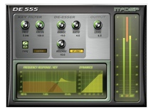 McDSP DE555 De-esser Native v6 Plug-in