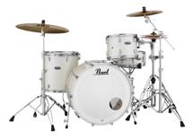 Pearl Decade Maple Shell Pack - 3pc, White Satin Pearl