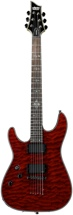 Schecter Damien Elite-6 Left-Handed - Lefty Crimson Red
