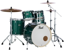 Pearl Decade Maple Shell Pack - 5pc - Ocean Galaxy Flake Wrap