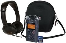 TASCAM DR-40 Handheld Recorder Bundle