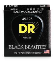 DR Strings BKB5-45 Black Beauties Coated Steel Medium 5-String Bass Strings