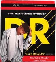 DR Strings MM-45 Fat Beams Stainless Steel Medium Marcus Miller Bass Strings