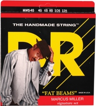 DR Strings MM5-45 Fat Beams Stainless Steel Medium 5-String Marcus Miller Bass Strings