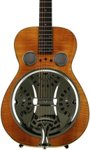 Epiphone Dobro Hound Dog Deluxe Square Neck - Vintage Brown