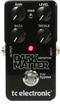 TC Electronic Dark Matter Distortion Pedal