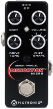 Pigtronix Disnortion Micro Analog Fuzz & Overdrive Pedal