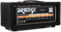 Orange Dual Dark 100 100/70/50/30-watt, Class A/B 2-channel Hi-Gain Tube Head