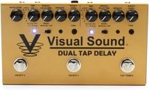 Visual Sound Dual Tap Delay Two-Channel Tap Tempo Delay Pedal