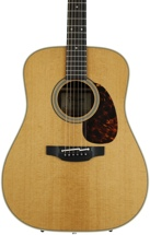 Takamine EF360S Dreadnought Acoustic/Electric, Thermal Top - Natural
