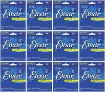 Elixir Strings 12000 Polyweb Super Light Electric Guitar Strings 12-Pack