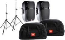 JBL EON515XT Speaker Package