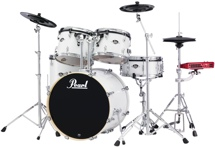 Pearl E-Pro Powered by Export 5-pc Electronic Drum Set Standard - Pure White
