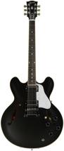 Gibson Memphis ES-335 Dot Satin Finish - Trans Black