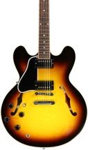 Gibson Memphis ES-335 Dot Left Hand - Vintage Sunburst Left Hand