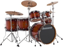 Ludwig Evolution Maple 6-piece Shell Pack - 22