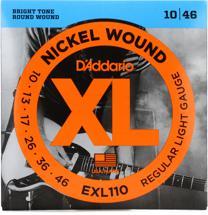 D'Addario EXL110 Nickel Wound Light Electric Strings