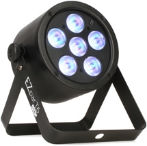 Chauvet DJ EZpar T6 USB RGB PAR, Battery-powered