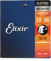 Elixir Strings 12057 Nanoweb Light 7-String Electric Guitar Strings