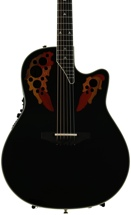Ovation Elite AX Contour Back - Black Gloss