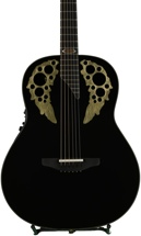 Ovation 50th Anniversary USA Custom Elite, Limited Run - Gloss Black