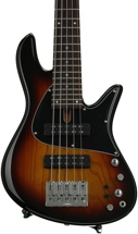 Fodera Emperor Standard Classic Special Run - Vintage Sunburst, Ash Body, Rosewood Fingerboard