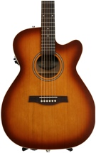 Seagull Guitars Entourage Rustic Concert Hall - Solid Cedar Top, Rustic Burst