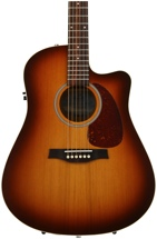 Seagull Guitars Entourage Rustic CW QI - Rustic Burst
