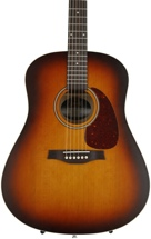 Seagull Guitars Entourage Rustic Dreadnought - Solid Cedar Top, Rustic Burst