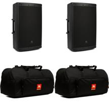 JBL EON615 Speaker Pair with Bags