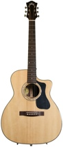 Guild F-130RCE Orchestra Acoustic/Electric w/Cutaway - Natural, Rosewood