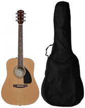 Fender FA100 Acoustic w/Gig Bag - Natural