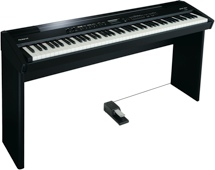 Roland FP-7F with Stand - Black