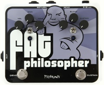 Pigtronix FAT Philosopher Overdrive and Compressor