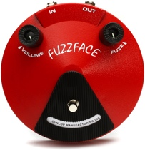 Dunlop JDF2 Classic Fuzz Face Pedal