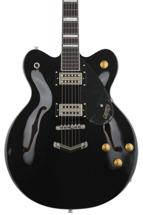 Gretsch G2622 Streamliner Center Block Double Cutaway - Black, V-Stoptail