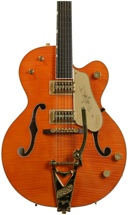 Gretsch G6120TM Chet Atkins Hollow Body - Tiger Maple