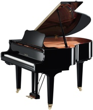 Yamaha GC1TA TransAcoustic Grand Piano - Polished Ebony finish