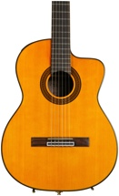Takamine GC5CE Acoustic-Electric Classical Cutaway Guitar, Natural