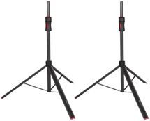 Gator Frameworks GFW-ID-SPKR SET ID Series Speaker Stands (set of 2) with Carry Bag
