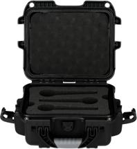 Gator Waterproof Injection Molded Case - Holds 6 handheld mics