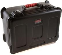 Gator GM-7W - ATA Molded Case for 7 Wireless Mics; TSA Latches
