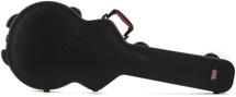 Gator ATA Molded PE Guitar Case -  w/TSA latches for Semi-hollowbody Electric Guitars