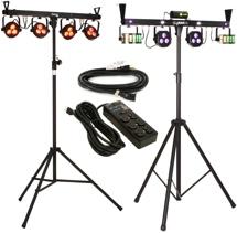 Chauvet DJ GigBAR2 + 4BAR LT USB Lighting Bundle